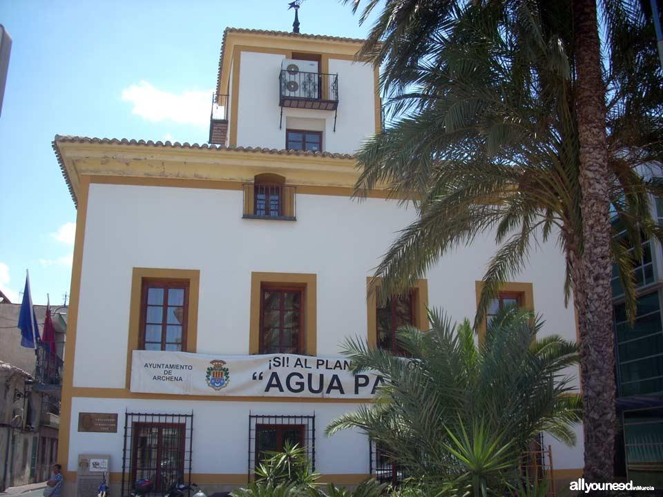 Casa Grande. Ayuntamiento de Archena