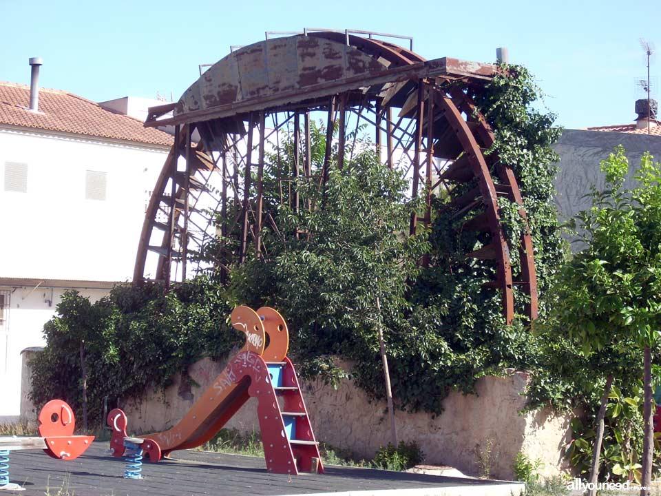 Cañada Water wheel