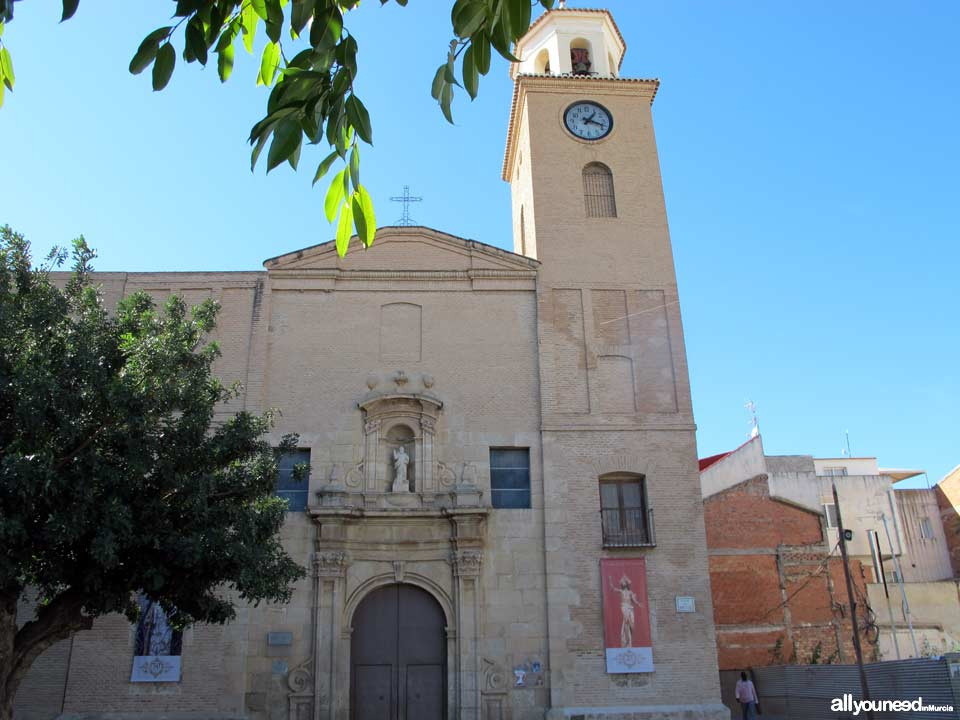 Iglesia parroquial de San Bartolomé de Beniel