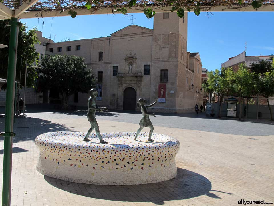 Plaza Ramón y Cajal de Beniel