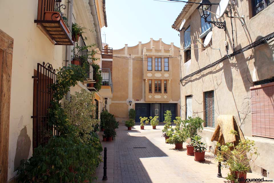 Calle Teatro de Blanca
