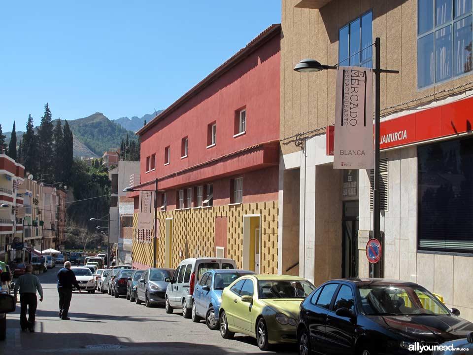 Calle Juan Ramón Jiménez en Blanca