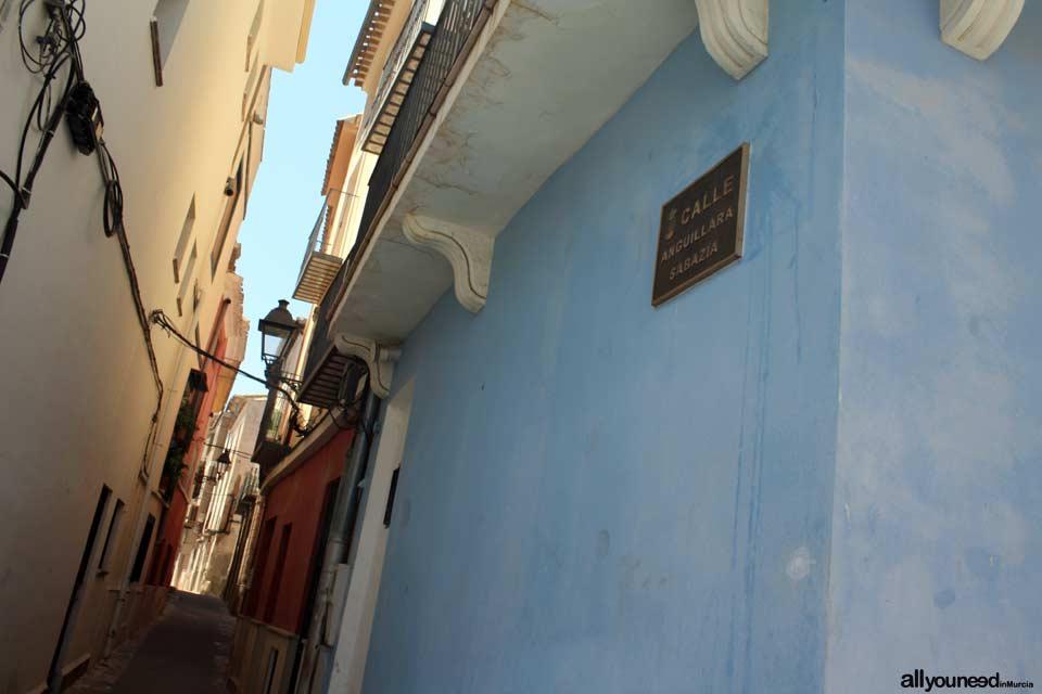 Calle Anguillara Sabazia en Blanca