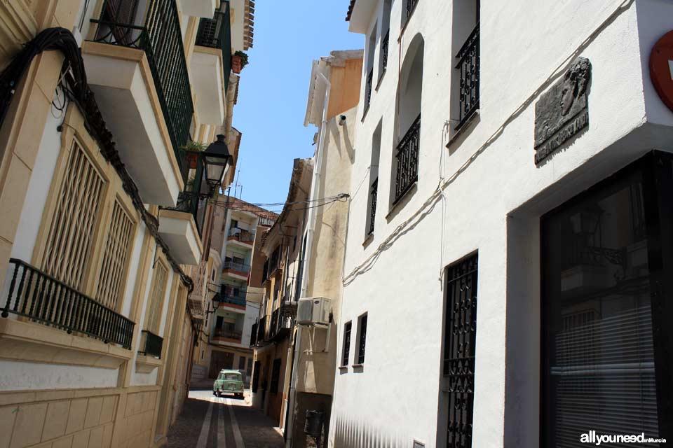 Calle Pintor Pedro Cano de Blanca