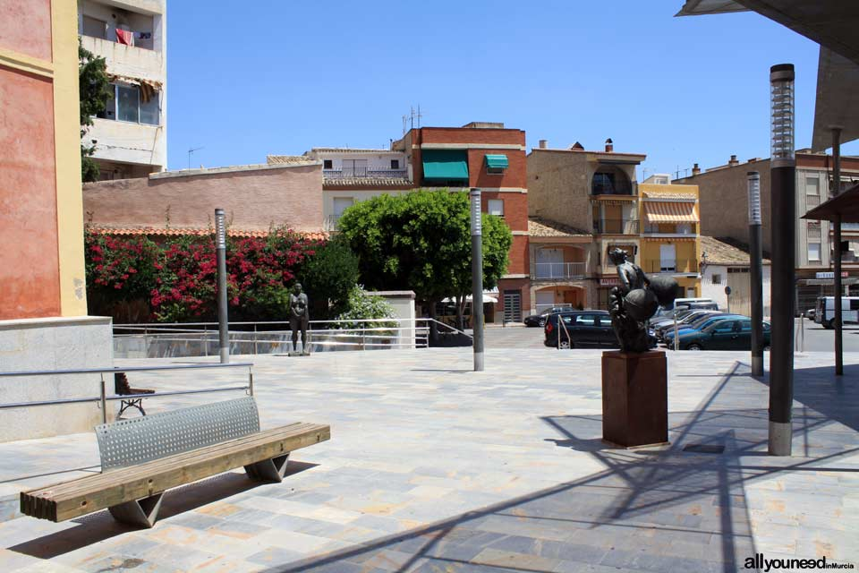 Plaza del Ayuntamiento in Blanca