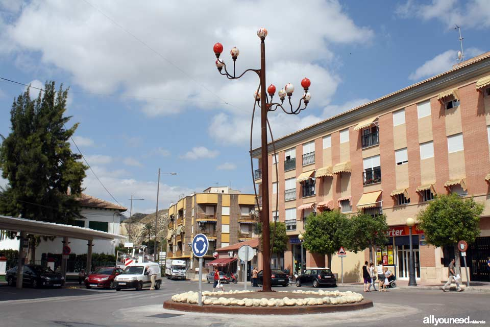 Plaza la Farola in Blanca