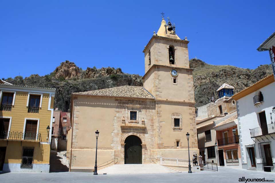 Iglesia San Juan Evangelista de Blanca