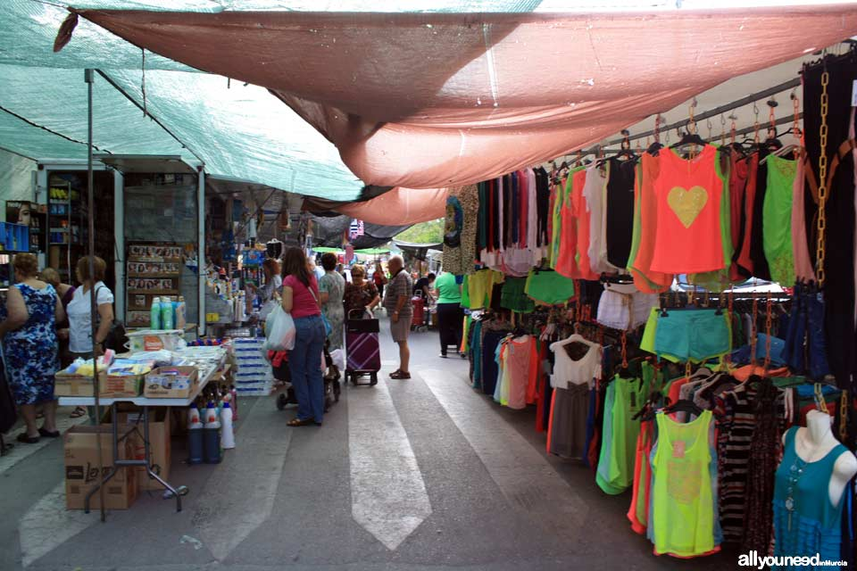 Blanca weekly street market