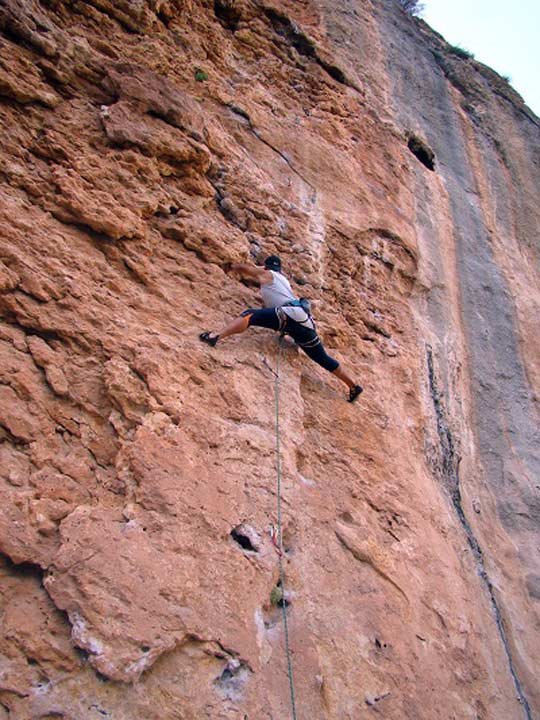 Murciaventuras en blanca escalada for Servicio tecnico roca murcia