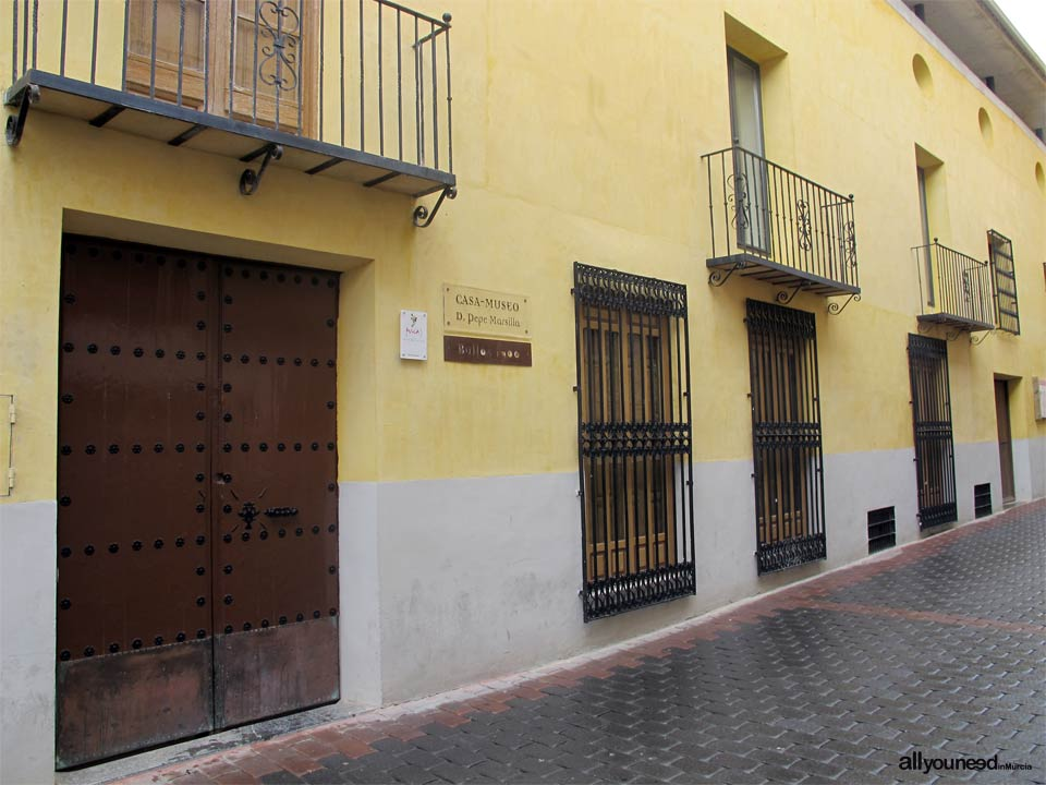 Facade of the House of Mr. Pepe de Marsilla