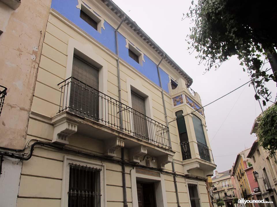 Fachada casa don Blas-Alfonso