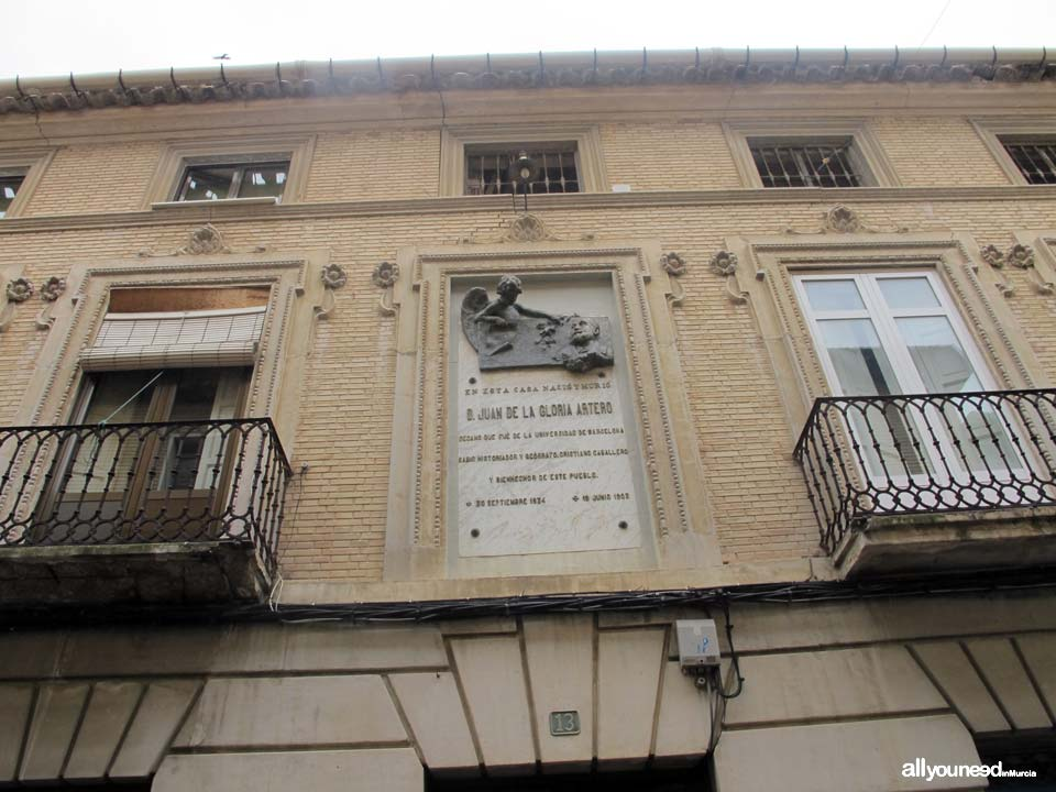 Casa don juan de gloria artero for Calle gloria murcia