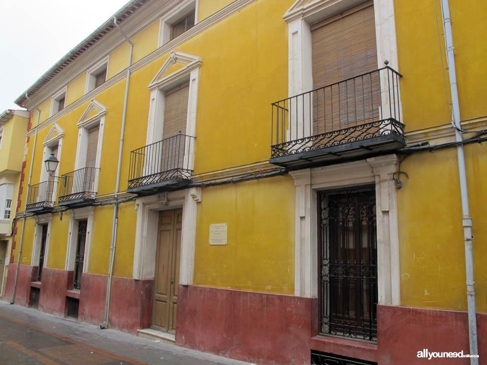 Casa Familia Figueroa de Bullas
