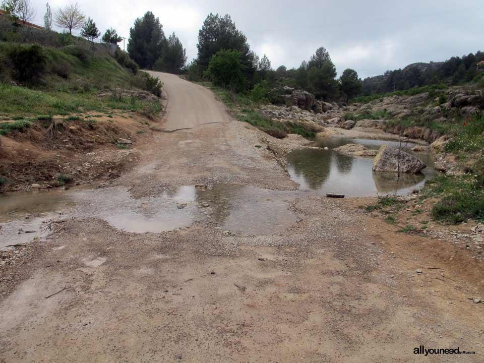 Nacimiento del río Mula de Bullas