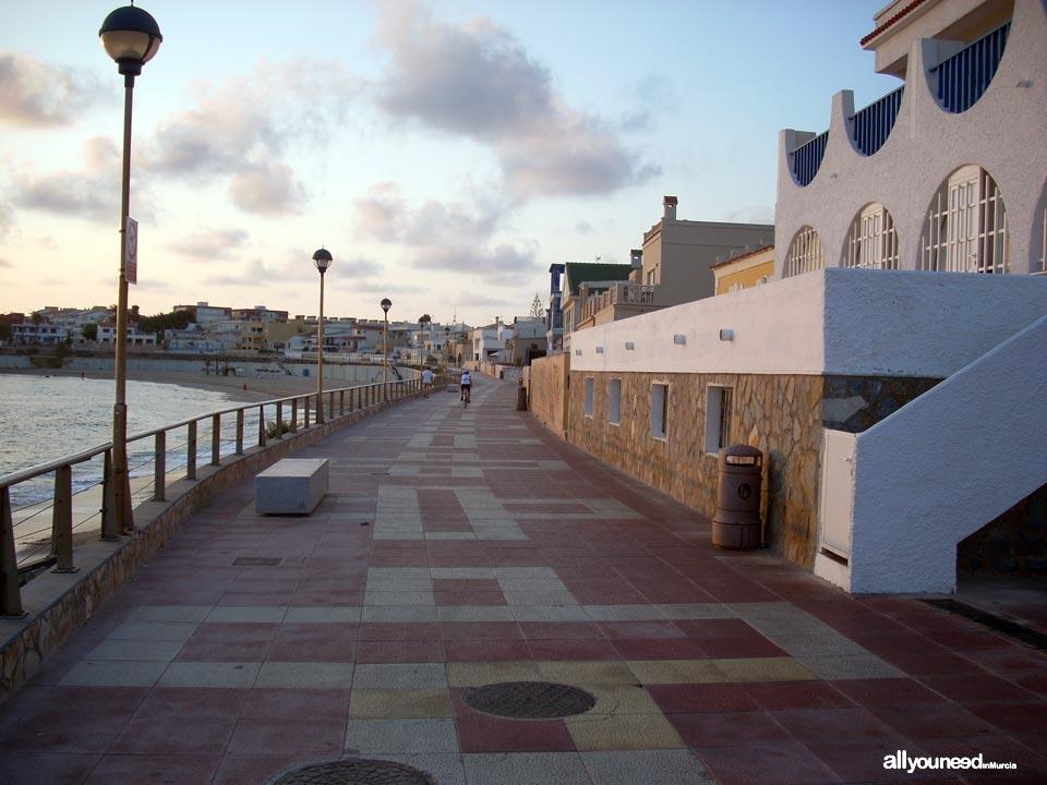 Paseo hacia el Faro de Cabo de Palos