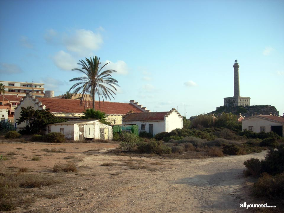 Antigua casa de Correos de Cabo de Palos