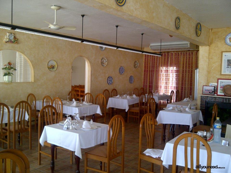Bar-Restaurante Cala Flores en Cabo de Palos. Cartagena. Arroces.