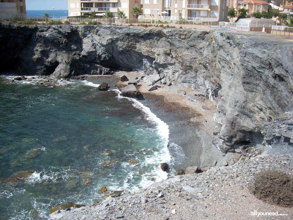 Cove located in calle la Isla