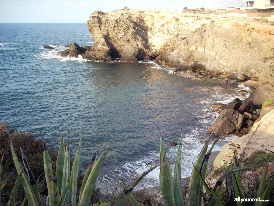 Muerto Cove. Cabo de Palos