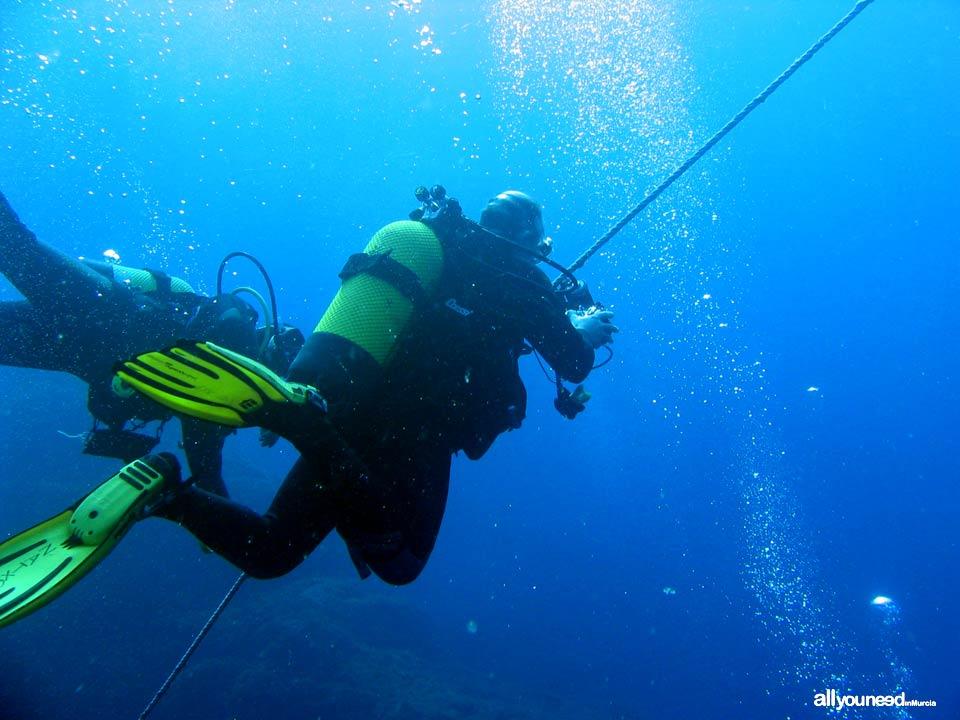 Islas Hormigas, reserva marina en Cabo de Palos -Murcia-