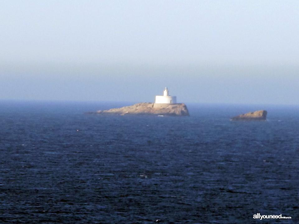 Hormigas Islands in Murcia -Spain-