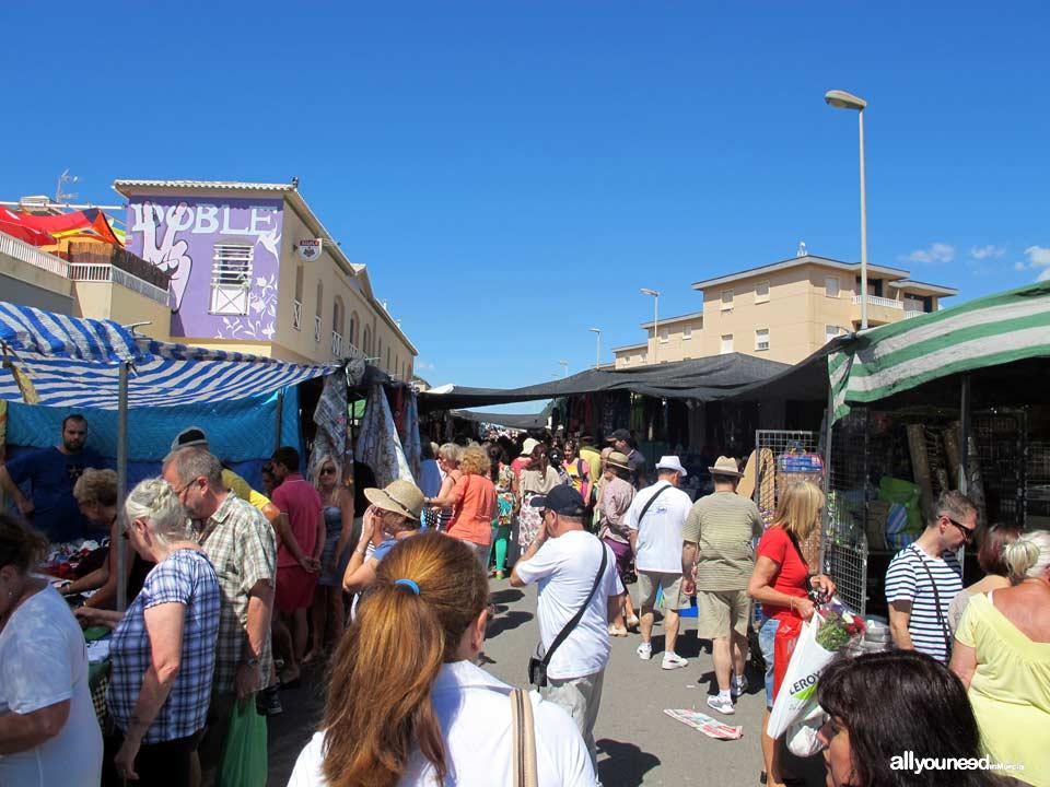Mercado semanal de Cabo de Palos