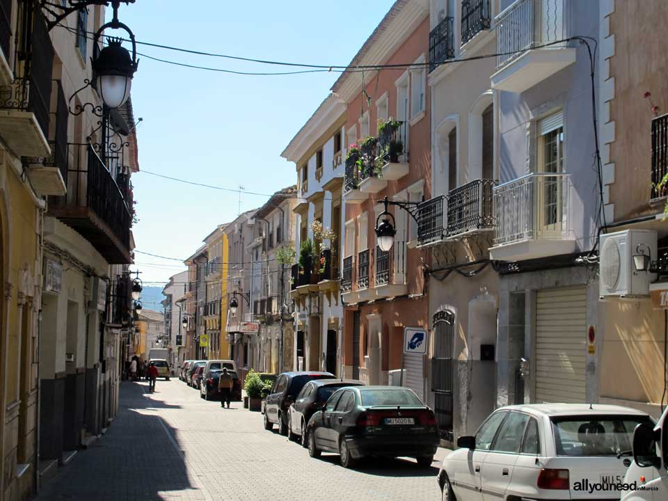 Calle Mayor in Calasparra