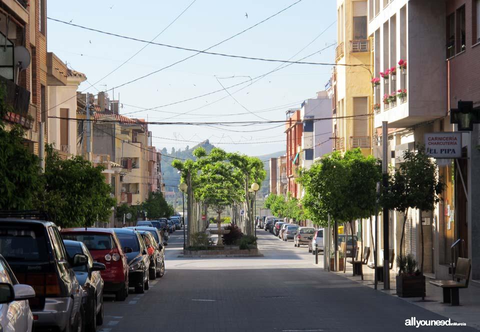 Calles de Calasparra