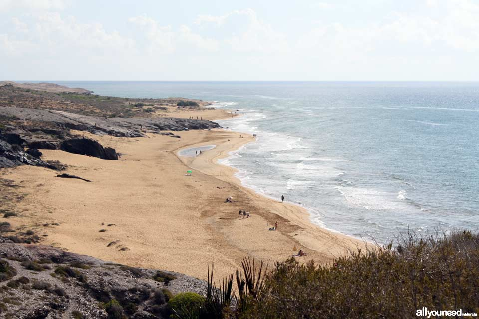Calblanque. Playa Negrete