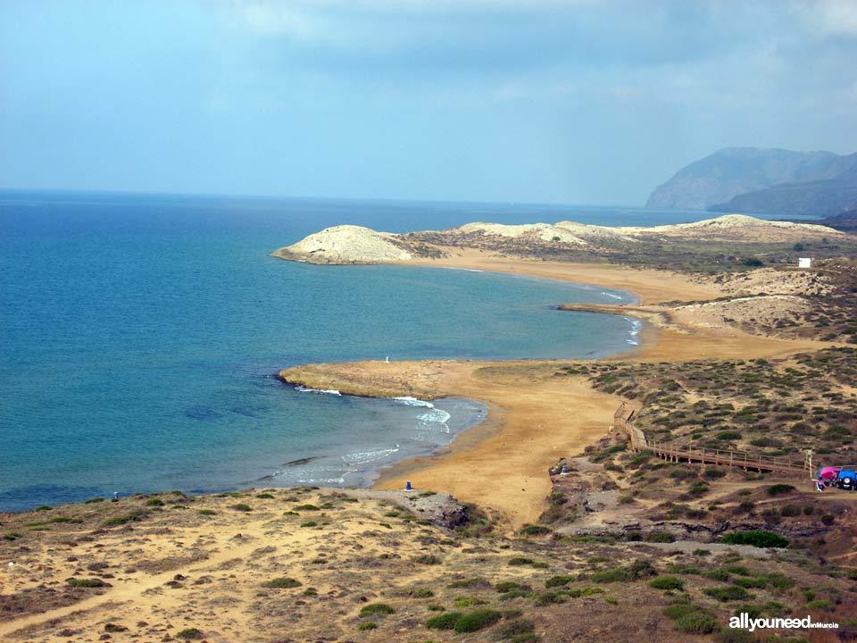 Playas de Calblanque en Cartagena. Cala Magre, Arturo y Calblanque.