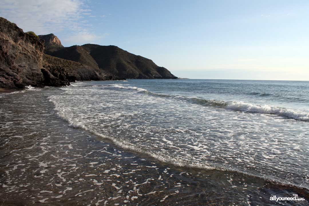 Cala Golera. Playas de Calblanque. Murcia