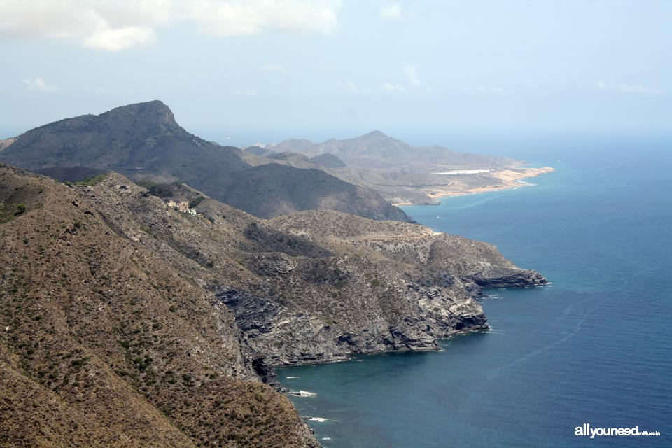 Monte de las Cenizas. Views of Calblanque