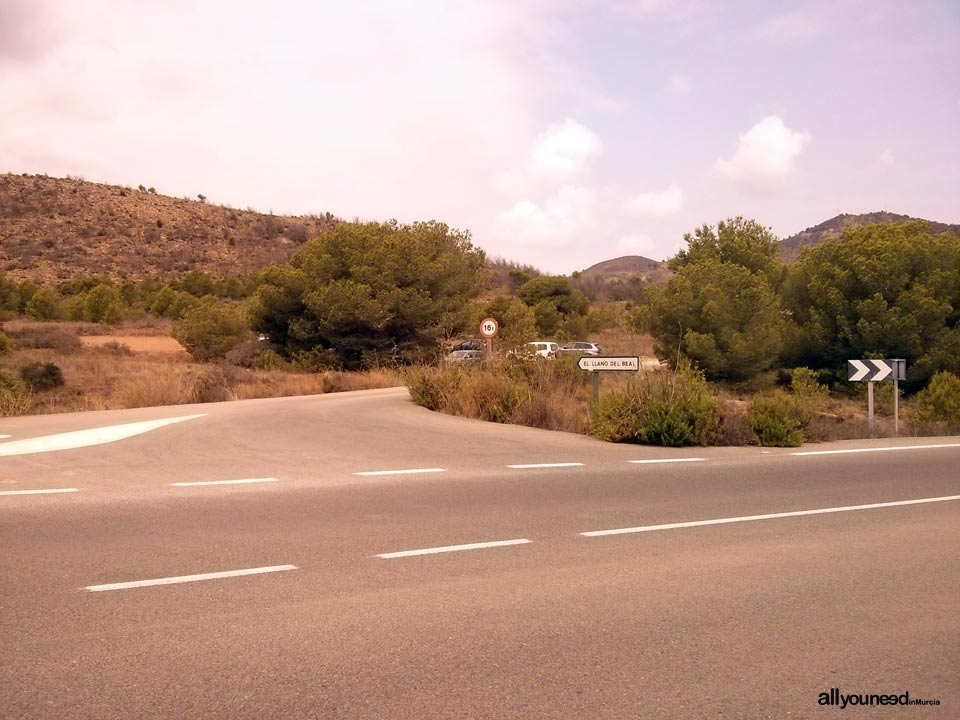 Monte de las Cenizas. Parking area