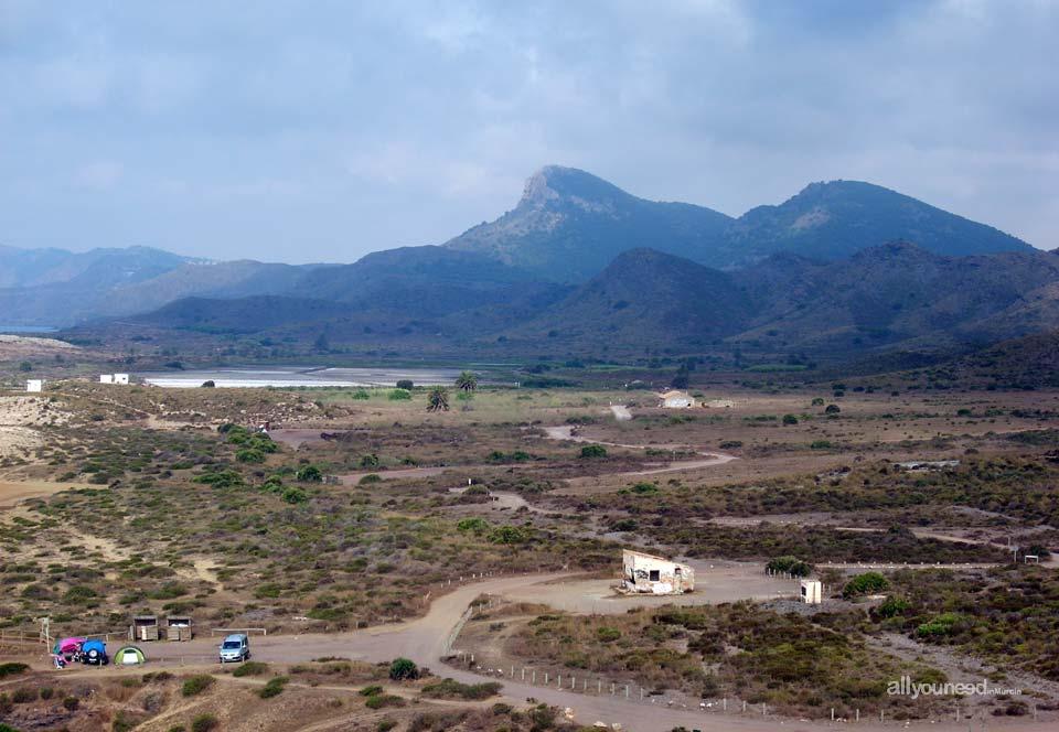 Parque Regional de Calblanque, Monte de las Cenizas y Peña del Águila