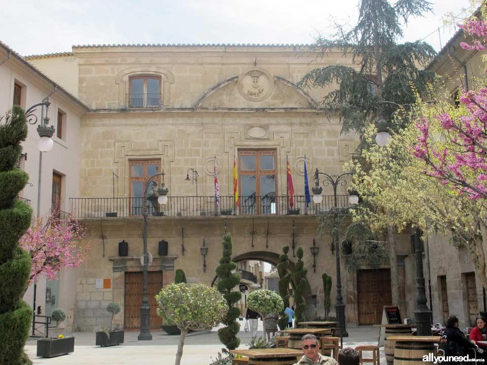 Plaza del Ayuntamiento de Caravaca de la Cruz