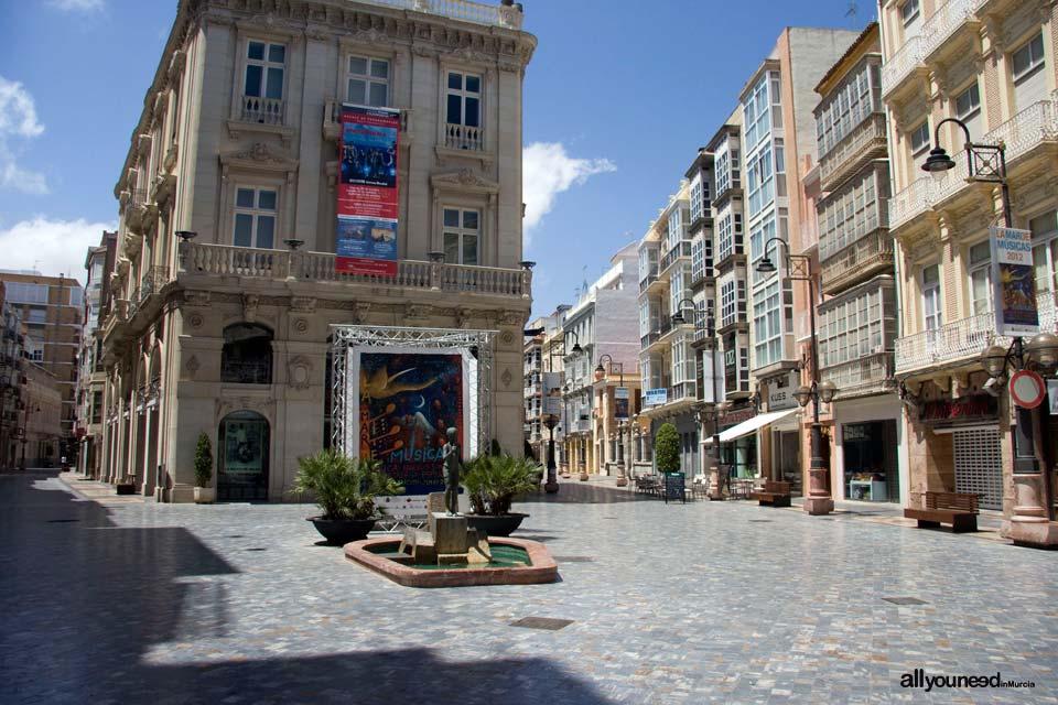 Calle Carmen-Jabonerías de Cartagena