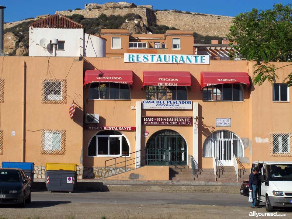 Restaurante Casa del Pescador. Frente al Puerto de Cartagena