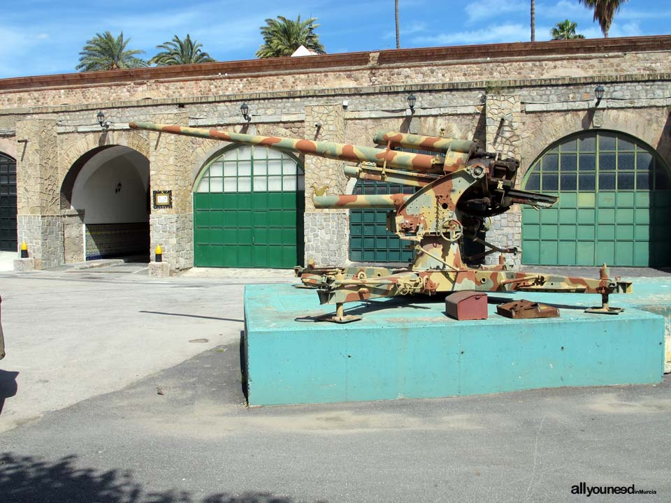 Cartagena Artillería Park. Military Museum