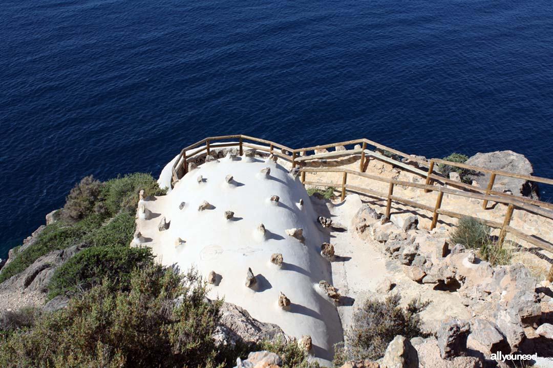 Torre de Santa Elena en la Azohía -Cartagena-