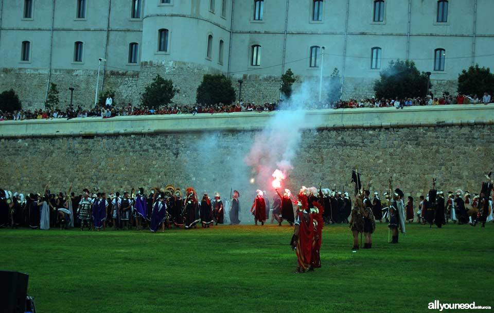 Carthagineses y Romanos en Cartagena. Batalla por la toma de Qart Hadast