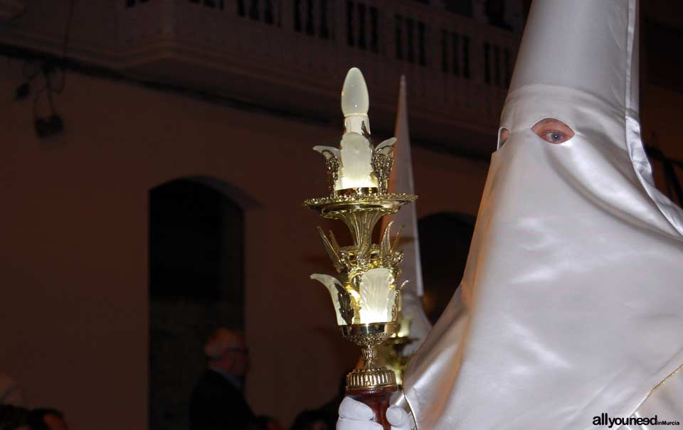 Emblem of San Juán. Holy Week in Cartagena