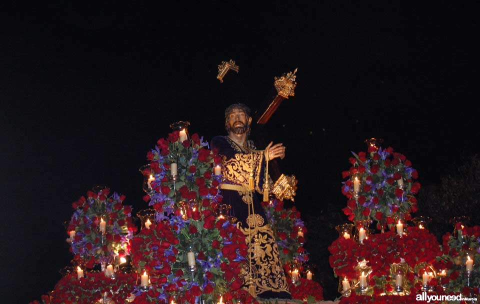 Jesus of Nazareth. Holy Week in Cartagena