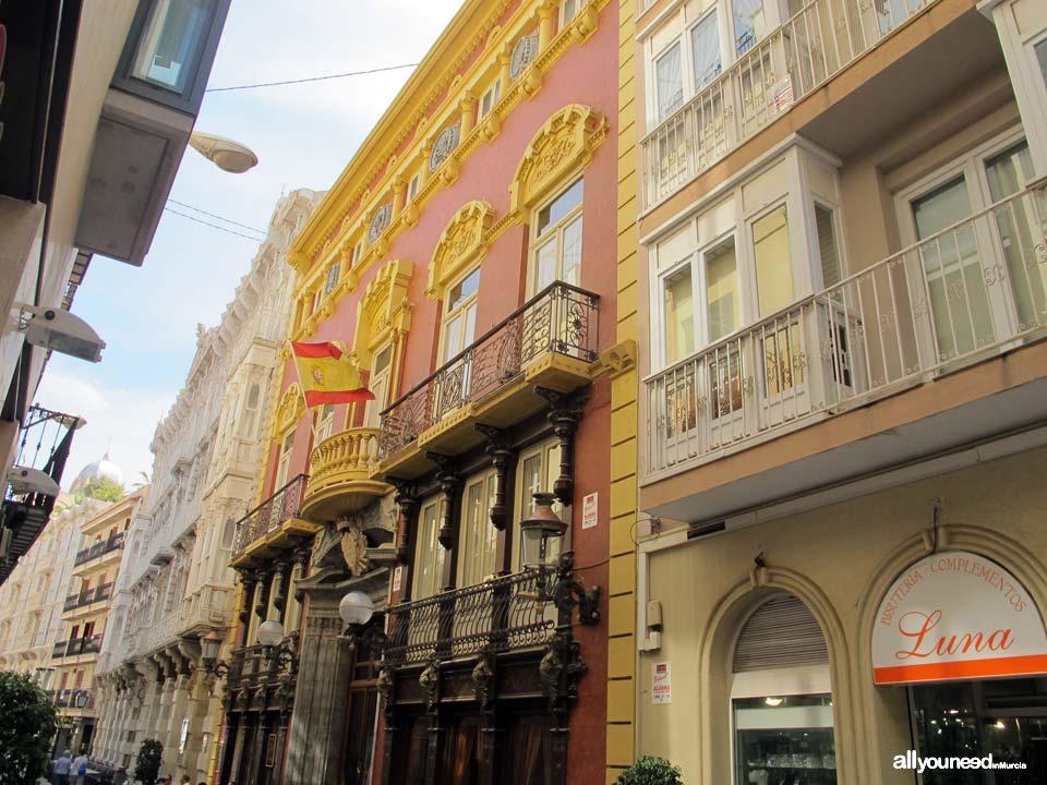 Calles de Cartagena. Calle Mayor