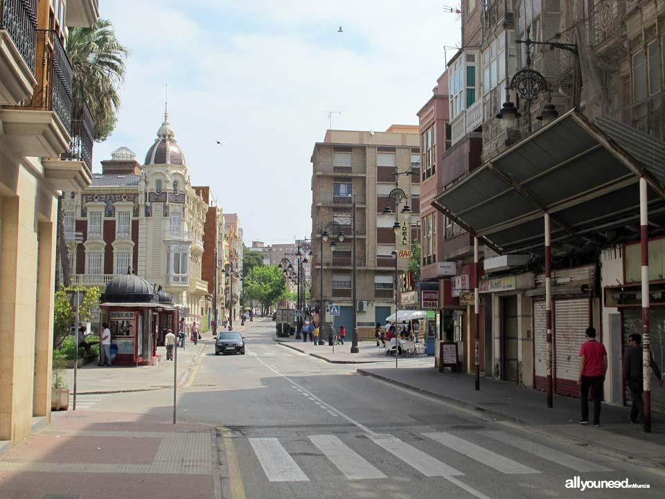 Calles de Cartagena. Calle Duque San Diego