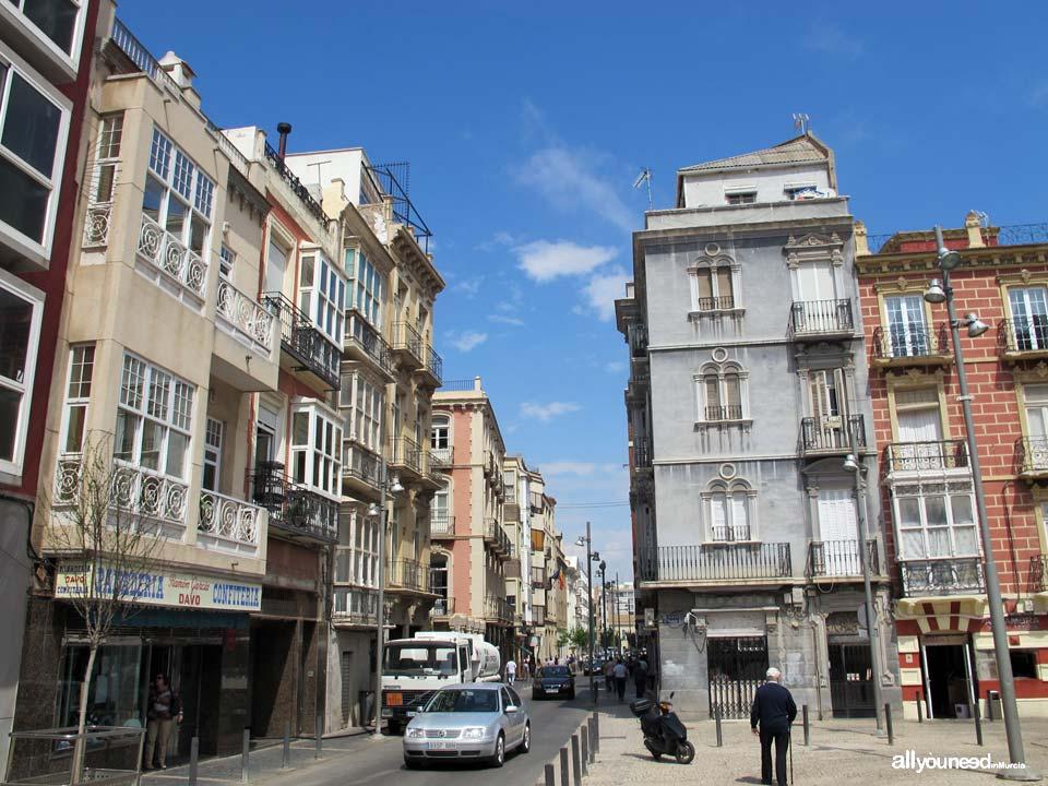 Calles de Cartagena. Calle Gisbert