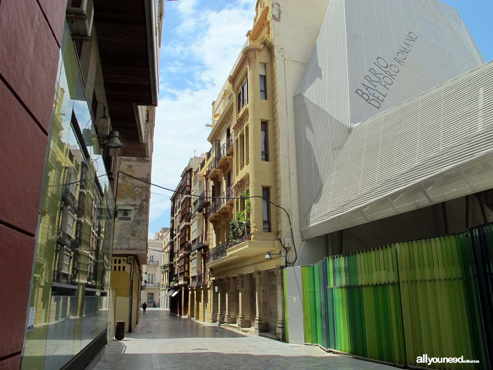 Calles de Cartagena. Calle Honda