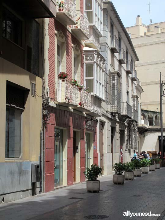 Calles de Cartagena. Calle Jara