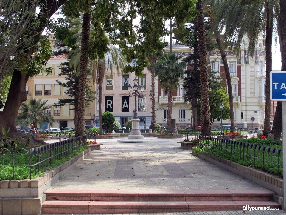 Calles de Cartagena. Plaza de la Merced