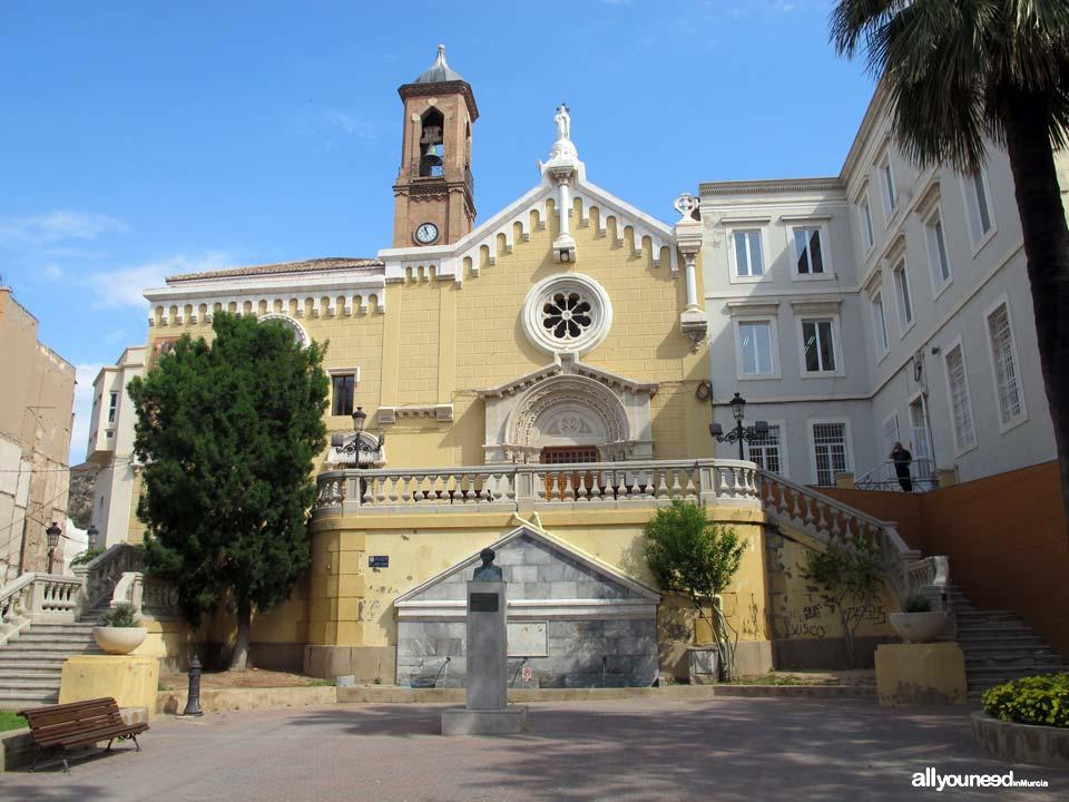 Calles de Cartagena. Plaza Jaime Bosh