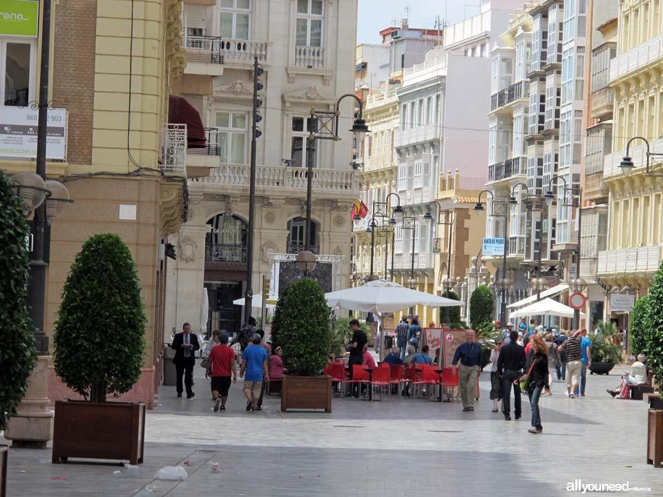 Calles de Cartagena. Plaza Santa Florentina